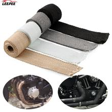 Heat Insulating Wrap Anti hot Exhaust Header Pipe Tape 50mm x 1.5m Insulation Tape Glass Fiber Motorcycle Accessories