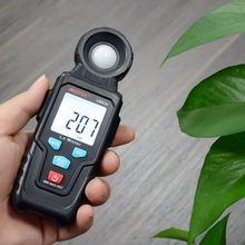 2020 Mestek LM610 Illuminometer Light Meter 100,000 Lux Digitale Luxmeter Luminantie Lux Fc Test Max Min Illuminometers Photometer(China)