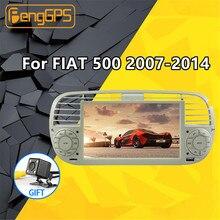 Autoradio Android 500, écran de Navigation GPS, stéréo, lecteur multimédia, pour voiture Fiat 2007, 2008, 2009, 2015, 9.0