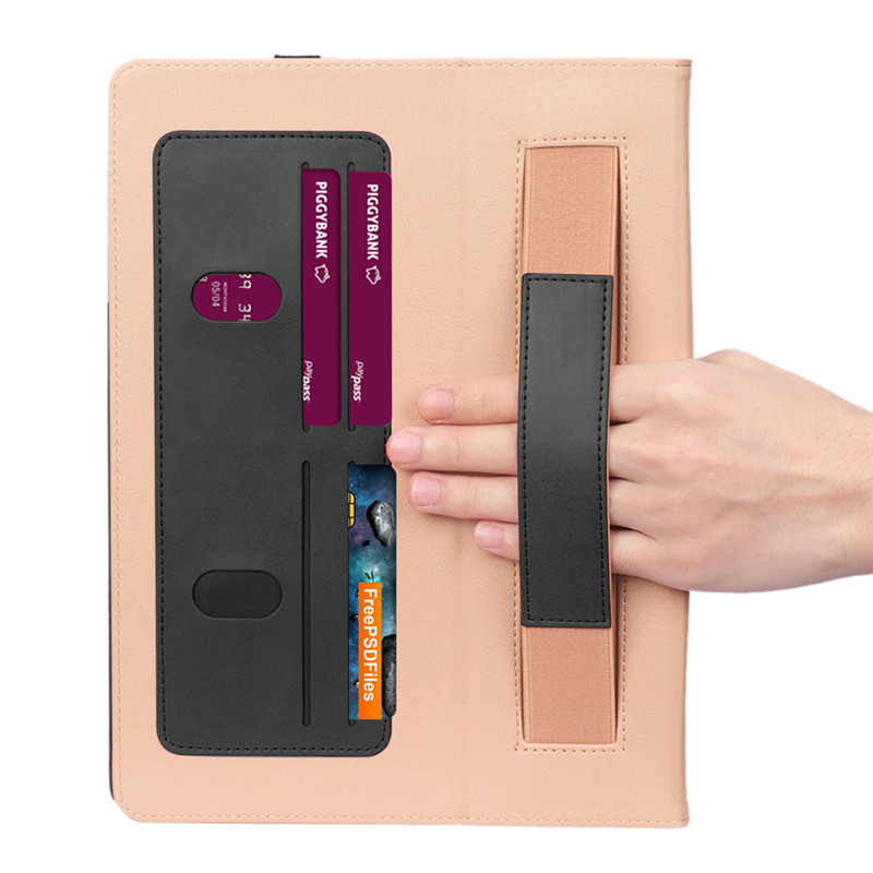 for Pro Pencil-Holder 11-Luxury Flip-Cover iPad with Case Coque
