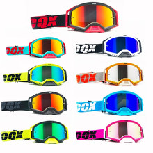 IOQX Outdoor Motorcycle Goggles Cycling MX Off-Road Ski Sport ATV Dirt Bike Racing Glasses Motocross Goggles Bike Google