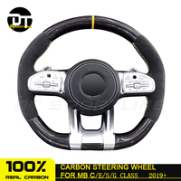 Customized Carbon fiber Steering Wheel For mercedes benz A Class C Class S Class for AMG latest version