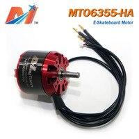 Maytech elektrikli bisiklet fırçasız motor 6355 190kv elektrikli bisiklet tekerleği motor için e kaykay