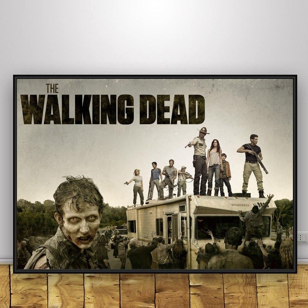 The-Walking-Dead-Art-Silk-Poster-Home-Decor-12x18-24x36inch (4)