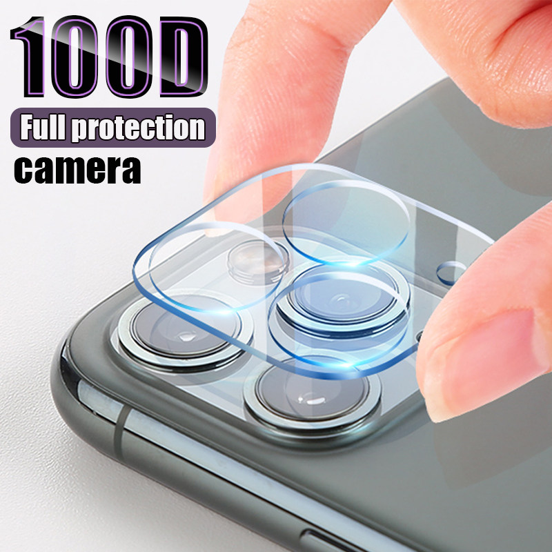 3-1PCS Camera Protection Glass For iphone 11 Pro Max X XR XS MAX Screen Protector For iPhone 11 Pro 7 8 Plus SE 2020 Lens Glass