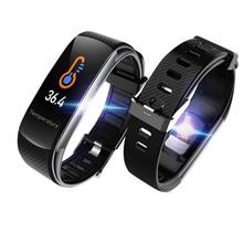 C6t inteligente pulseira relógios de temperatura do corpo ip67 à prova dip67 água monitor sono fitness saúde rastreador bluetooths smartband