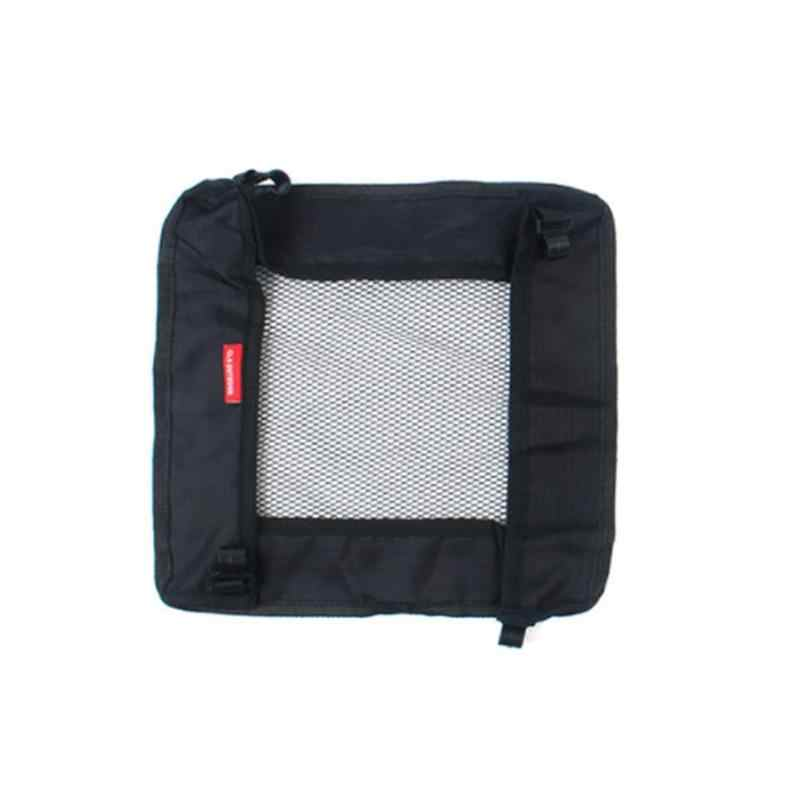 Oxford Folable Table Hanging Basket Outdoor Camping Travel Organizer Bag Black