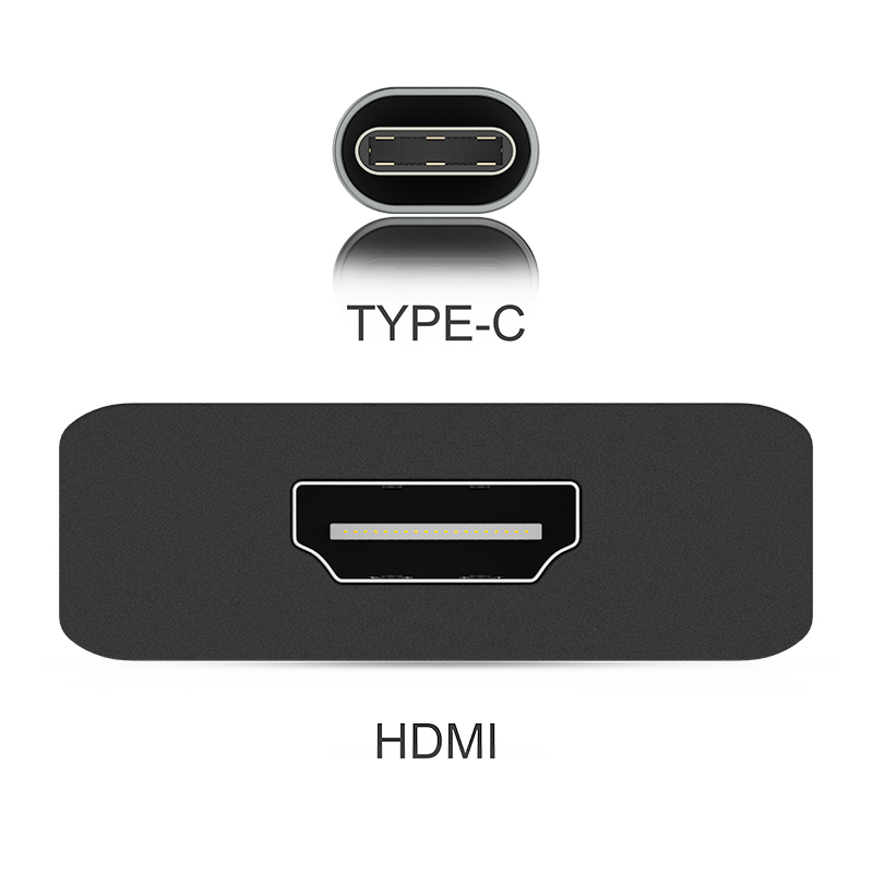 USB C to 4K HDMI Digital AV Adapter Compatible 2018 2019 MacBook Air iPad Pro MacBook Pro 13 15 Thunderbolt 3 Chromebook in Computer Cables Connectors from Computer Office