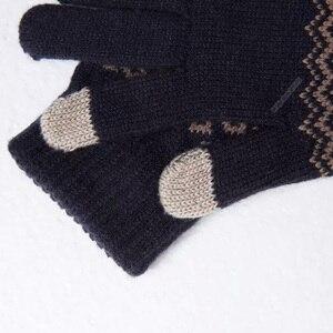 Image 2 - Youpin FO Finger Touch Screen Gloves for Women Men Winter Warm Velvet Gloves For Screen Phone Tablet Birthday/Christmas Gift
