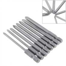 8 шт магнитные биты для отвертки с треугольной головкой шестигранным