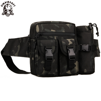SINAIRSOFT Sport Camping Pack Water Bottle Waist Bag Tactical Molle Waterproof Sling Edc Pouch Bags Lightweight Hunting Climbing