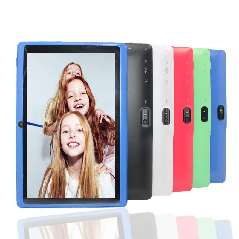7 Inch Android 4.4 Tablet 4GB Quad Core Q88 Kids PAD Bluetooth Wifi Tablet Panels KID