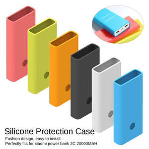 Power Bank Silicone Case For X