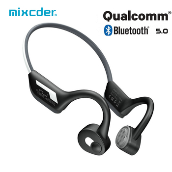 Mixcder J31 Bone Conduction Bluetooth Earphones Sport Wireless Headphone Bluetooth 5 for Running Parkour  with Reflective Strips