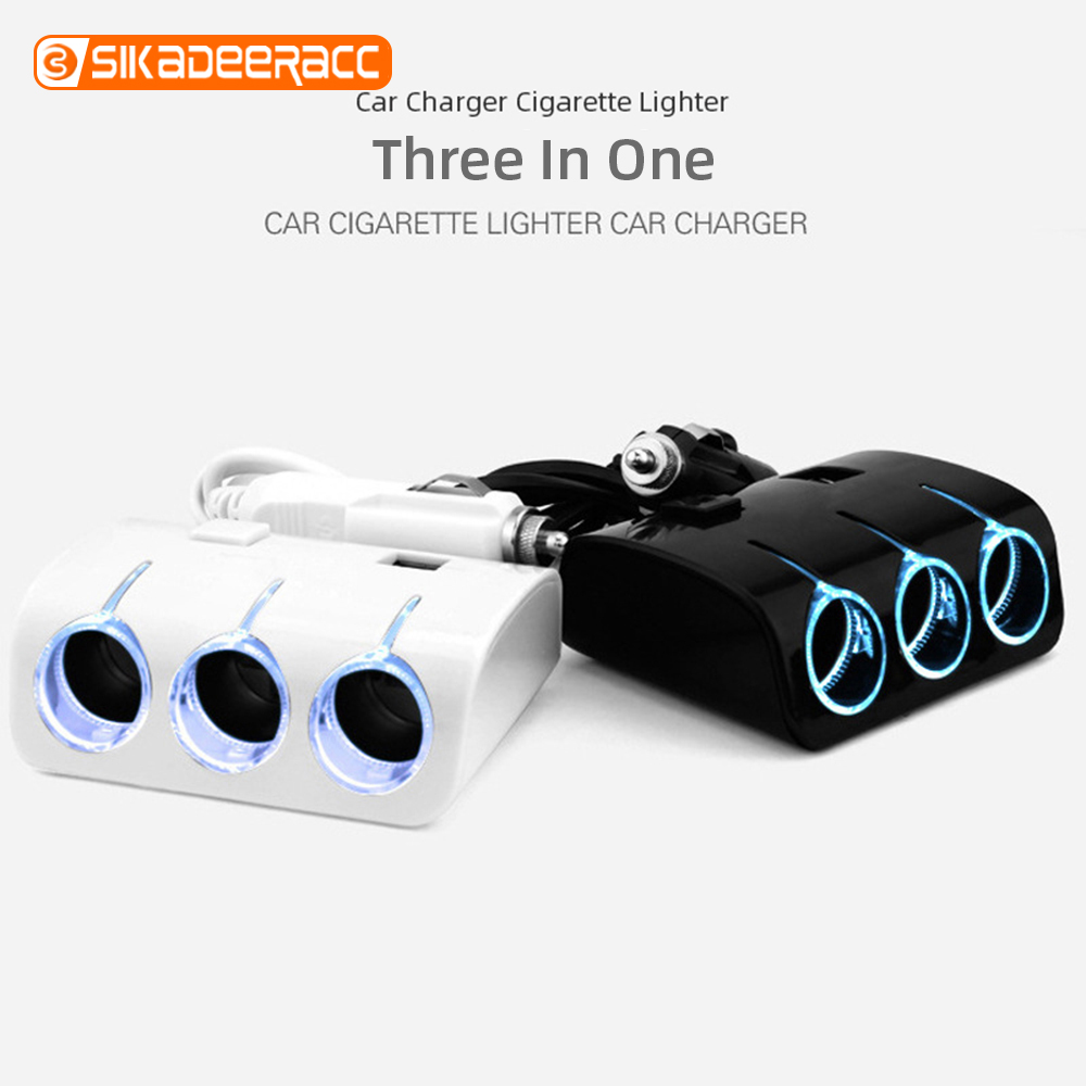 Car-Charger Cigarette-Lighter Dvr-Accessories Phone Universal 2 USB For MP3 120W High-Power