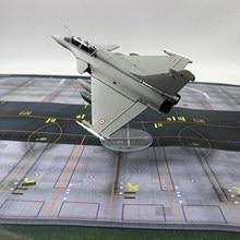 1/72 escala dassault rafale avião fighter liga diecast exibir modelo com/suporte de lutador frança modelo de aviões de combate comemorar