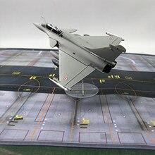 1/72 escala dassault rafale avião fighter liga diecast modelo de exibição com suporte 21x16x8cm