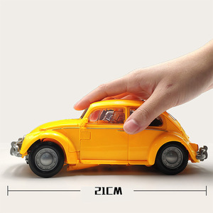 Image 5 - 21cm BMB שינוי דגם BBumbleb קרב להבי מתכת סגסוגת חלק פעולה דמות מעוותת צעצוע רובוט רכב הורנט אוסף צעצוע