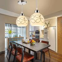 Ceiling Lamp Decor Nordic Loft Designer Industrial Pendant Light Retro Concise Glass Kitchen Hanging Lamp Covers Shades