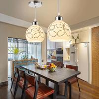 Ceiling Lamp Decor Nordic Loft Designer Industrial Pendant Light Retro Concise Glass Kitchen Hanging Lamp Covers Shades