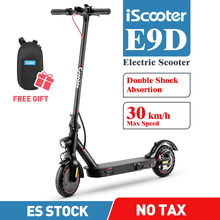 iScooter E9D 350W Electric Kick Scooters Foldable 2 Wheel Scooter 8.5 Inch Electric Scooters Adults Mini Smart Scooter 30 km/h
