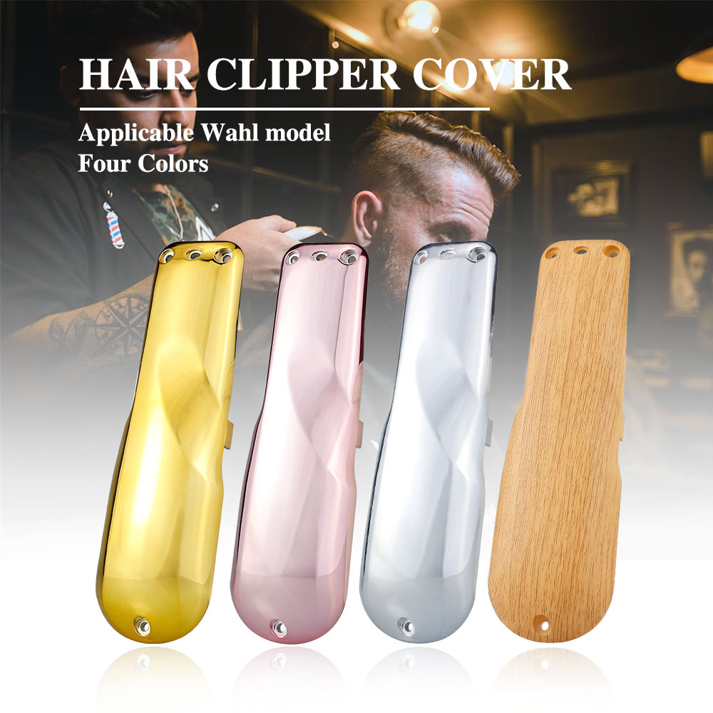 Barber Electric Clipper Front Cover Plating Hair Trimmer Cover Professional Replacement Hairdressing Tools Hair Clipper Cover