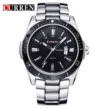 цена на 2018 NEW curren  watches men Top Brand fashion watch quartz watch male relogio masculino men Army  sports Analog Casual  watch