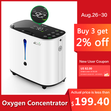 Pelvifine Oxygen Concentrator 1-6L/min Adjustable Portable Machine Home Travel Use oxigeno medicoe AC110-220V Humidifiers