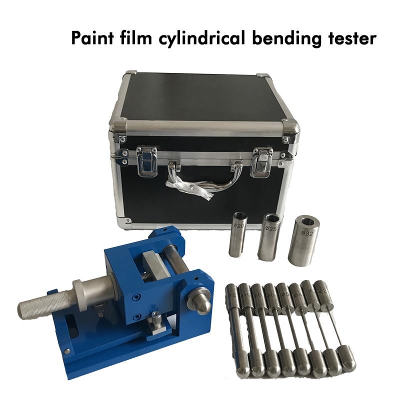 Инструменты производительности краски эмалированные цилиндрические изгиб тестер QTY-32 в основном используется для краски и лака