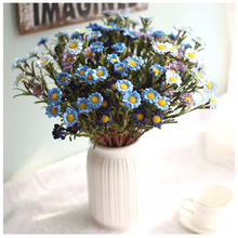 купить Artificial Artificial Flower Daisy Wedding Bride Holding Bouquet DIY Home Office Decoration Supplies Wedding Party Supplies дешево