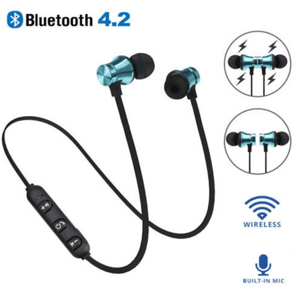 Магнитные беспроводные Bluetooth наушники XT11 HD гарнитура для телефона с шейным ремешком спортивные наушники с микрофоном для IOS Android всех телефонов Наушники и гарнитуры      АлиЭкспресс