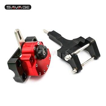 Reversed Safety Steering Damper For HONDA MSX 125 Grom 2013-2019 15 16 18 Motorcycle Adjustable Stabilizer Kit Bracket MSX125