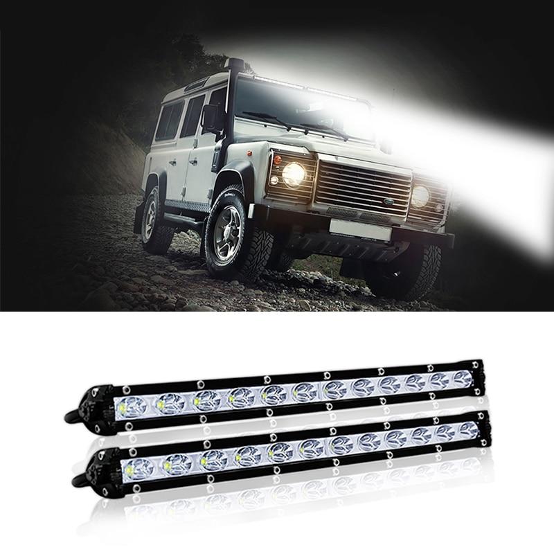 1 Pc Offroad Accessories Led Work Light Bar 4x4 LED Bulbs For Cars Spotlight 12 Volt Car Led Lights Trailer Tractors Atv Light
