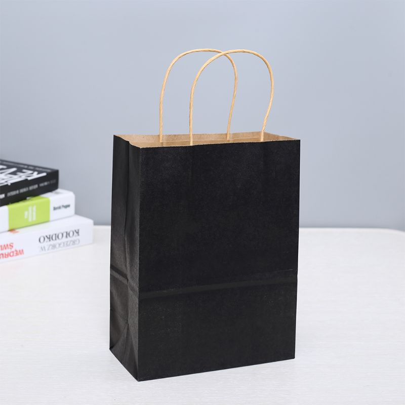 Paper Bags 50 Pcs Gift Bags, Party Bags, Shopping Bags, Kraft Bags, Retail Bags, Party Bags,  Paper Bags With Handles