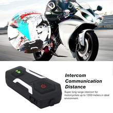 FM Motorcycle Intercom Helmet Headset FM Radio T10S Hands-free Wireless Helmets Intercomunicadores Moto Music(China)