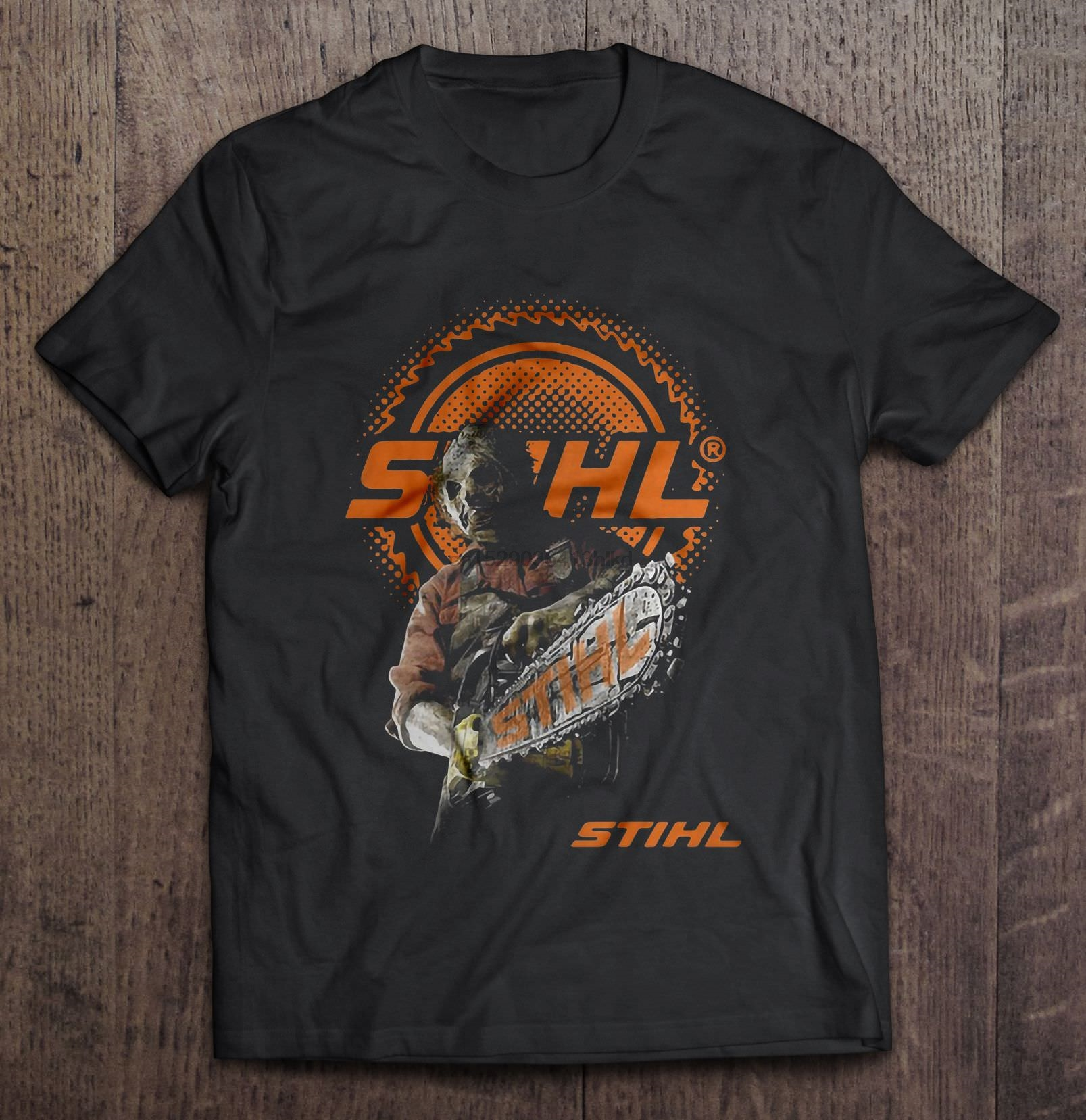 Stihl T-Shirt Powered By Power Equipment Chainsaws Trimmers Blowers all Size T23