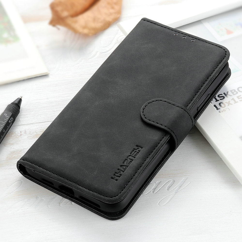 Wallet-Case Moto-G 8-Plus Leather-Shell for G8 Play 360-Protective Retro