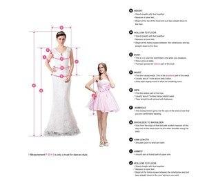 Image 3 - נוצץ שמלות נשף צהוב אונליין עם גדילים פאייטים סקסי אשליה ספגטי רצועות בלינג בלינג נשים פורמליות שמלות