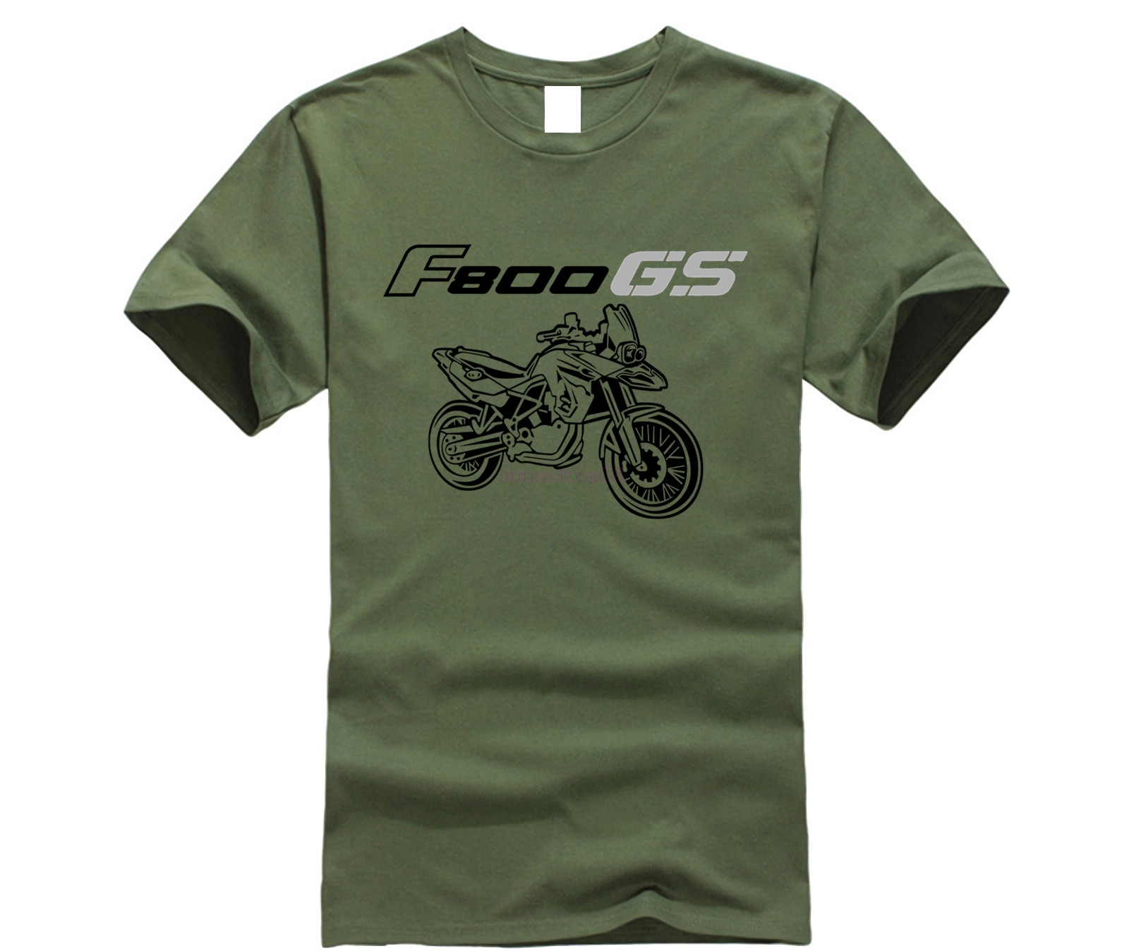 Men'S T-Shirt 2020 Newest 100% Cotton Brand New T-Shirts Moto Classic German Motorcycle Fans F 800 F800 <font><b>Gs</b></font> Tee <font><b>Tshirt</b></font> Homme image