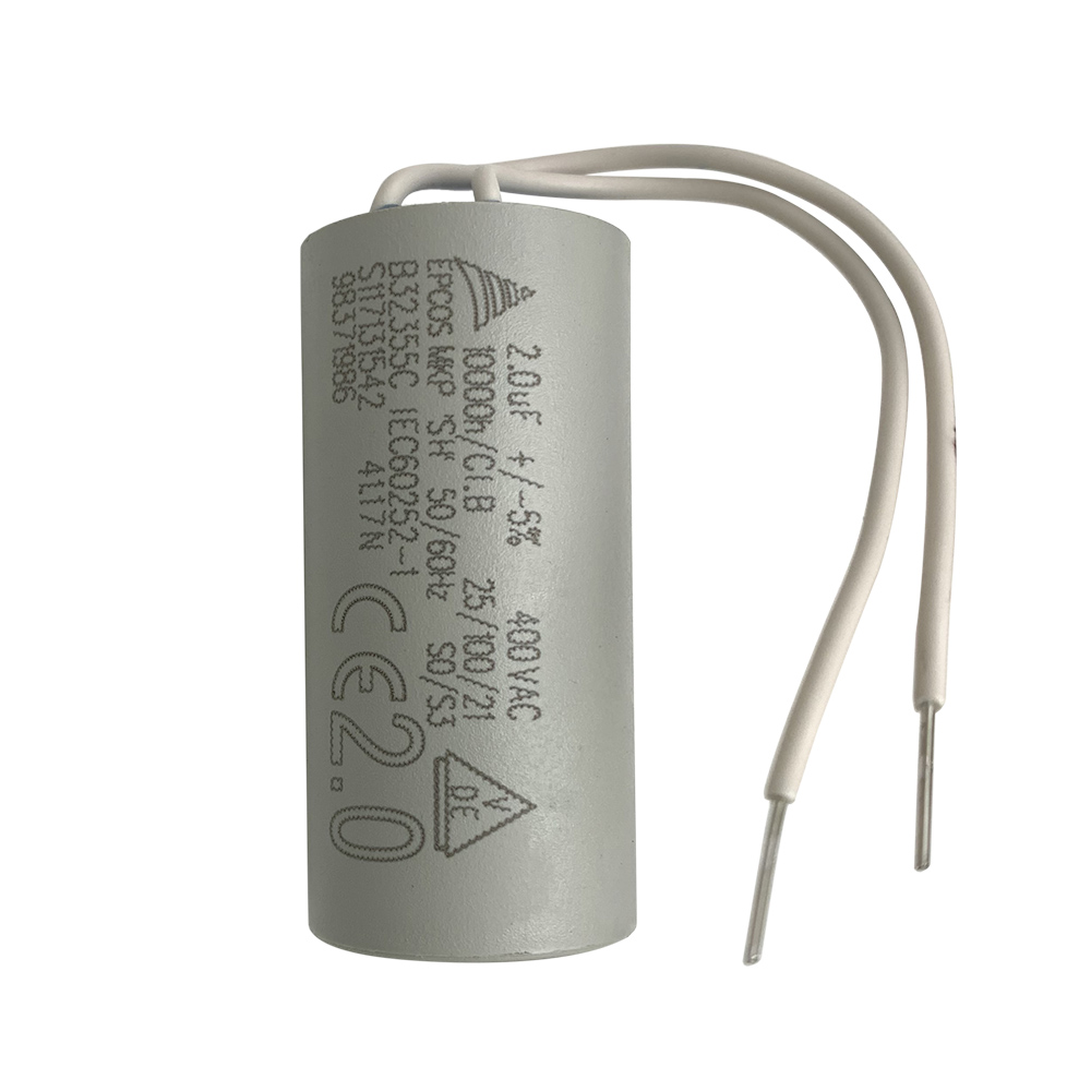 Gas Boiler Part Water Circulation Pump Capacitor 2.0uF 400VAC For Wilo And Grundfos