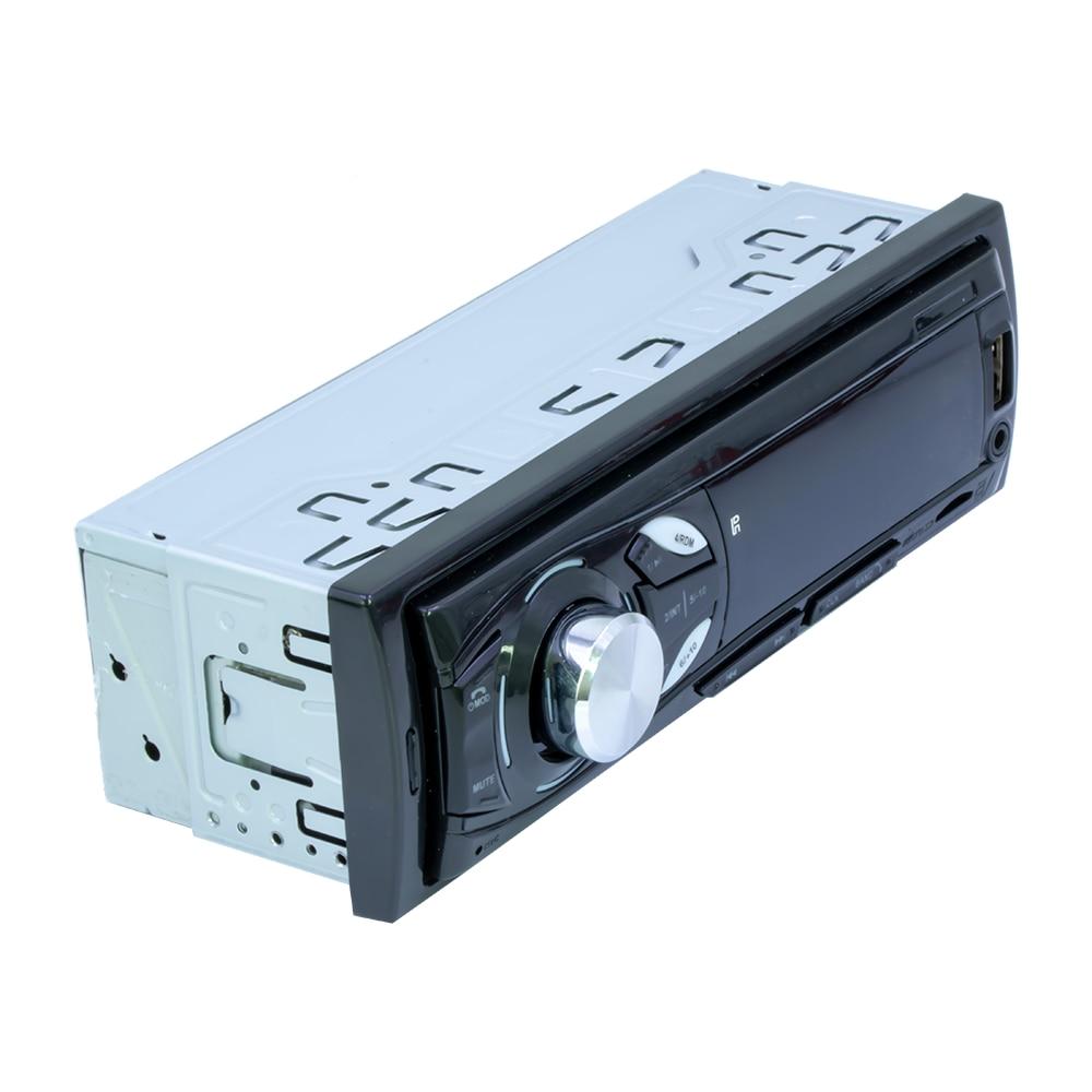 12V 1Din Car Auto Radio Stereo Bluetooth Remote Control Charger Phone USB/SD Audio MP3 Player 1 DIN In-Dash Audioradio Head Unit