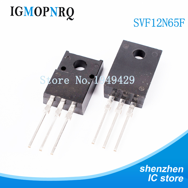 5pcs/lot SVF12N65F SVF12N65 12N65 12A 650V TO 220F new original