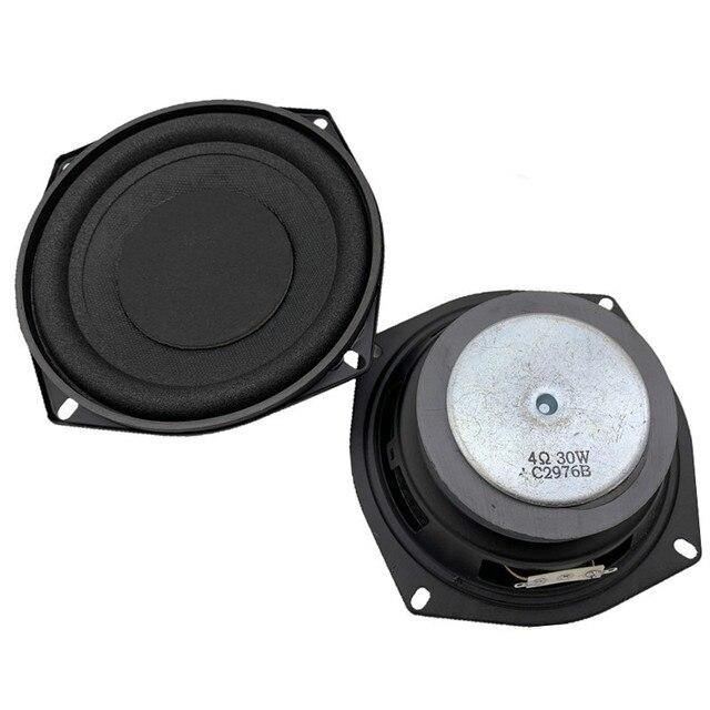 SOTAMIA 1 шт. 5,25 дюйма Аудио НЧ динамик драйвер 4 Ом 30 Вт бас звук активный динамик DIY мультимедийный сабвуфер громкий динамик
