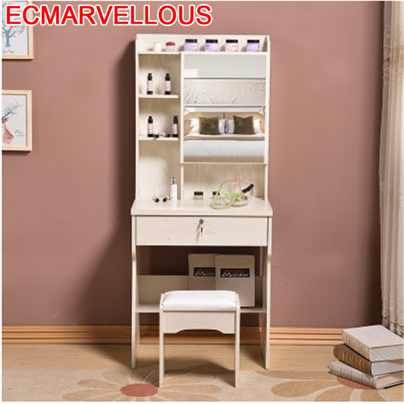 Dormitorio Toaletka Comoda Para Penteadeira Maquiagem Tocador De Maquillaje Wood Korean Quarto Bedroom Furniture Dressing Table