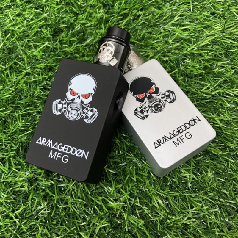 Hot Apocalypse Squonker BF Box Mod Kit Fit 18650 Battery 510 Thread Vape Kit 6ml Capacity Mechanical Mod 24mm Rda E Cigarette