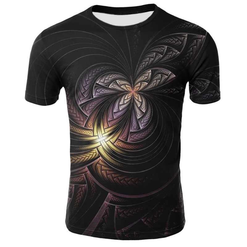 Männer T-shirts Populären männer Tops Dünne Art Malerei T-shirt Ästhetischen Kurzarm 3D Gedruckt Öl T-shirt Tees Und tops