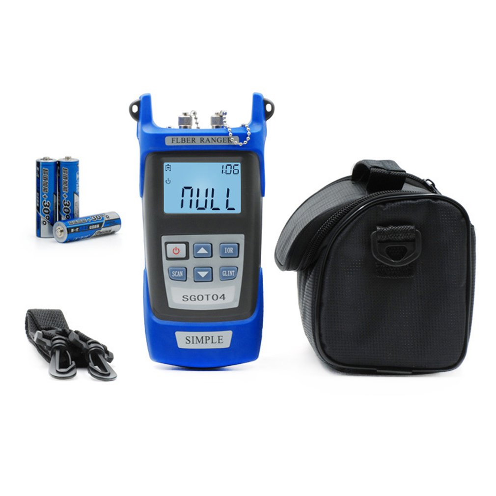 Handheld Visual Fault Locator and OTDR Optical Fiber Breakpoint Detector to Test Fault Location 5