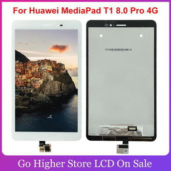 8 For Huawei MediaPad T1 8.0 Pro 4G T1-821L T1-821W T1-823L T1-821 LCD Display Touch Screen Panel Assembly image