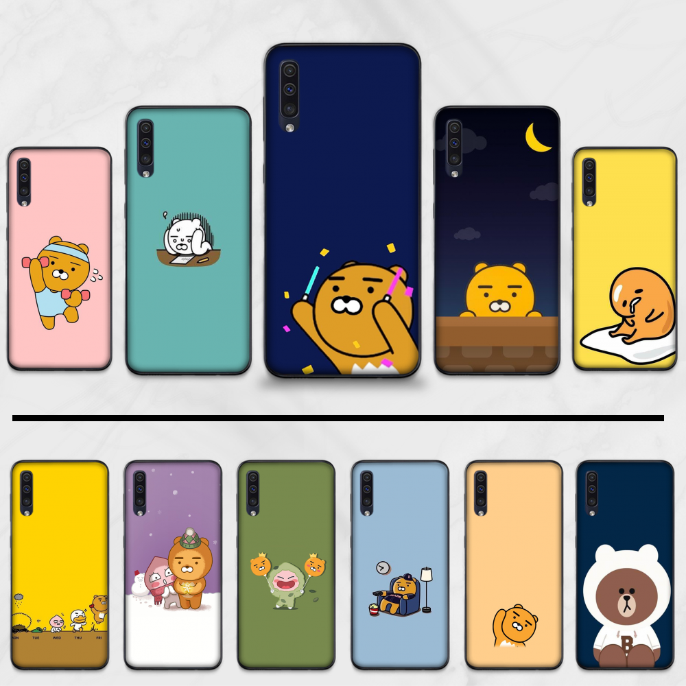 Ryan Cartoon Dier Telefoon Case Cover Voor Samsung Galaxy M10 20 30 Een 40 50 70 71 6S A2 a6 A9 2018 J7 Core Plus Ster S10 5G C8