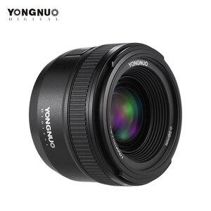 Image 3 - YONGNUO YN35mm F2.0 F2N עדשת YN35mm AF/MF פוקוס עדשה עבור ניקון F הר D7100 D3200 D3300 D3100 D5100 d90 DSLR מצלמה YN35mm עדשה